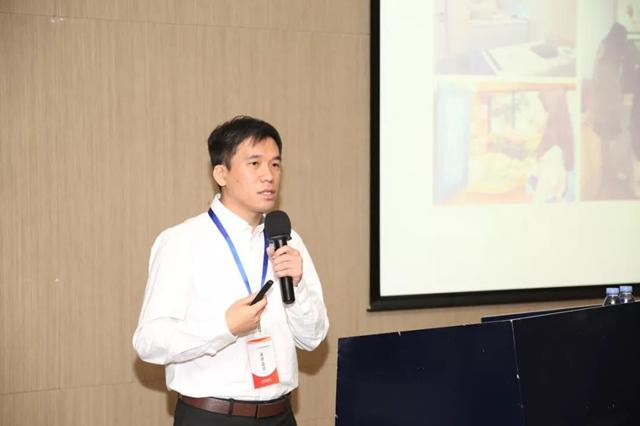 和而泰数据与人工智能实验室总监刘子威发表主题演讲